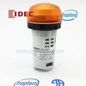 YW1P-2UQM3A IDEC đèn báo dạng vòm, thân liền không có biến áp – YW1P-2UQM3A
