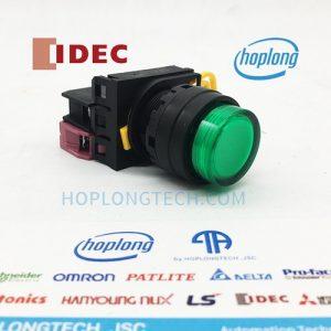 YW1L-M2E01Q4G IDEC nút nhấn có đèn loại lồi nhấn nhả – YW1L-M2E01Q4G