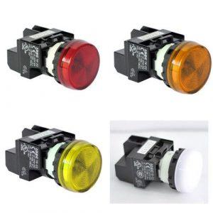 Đèn LED IDEC YW1P-1EQM3 bộ 10 chiếc 1 màu – YW1P-1EQM3 10c