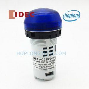 YW1P-2UQM3S IDEC đèn báo dạng vòm, thân liền không có biến áp – YW1P-2UQM3S