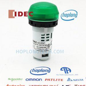 YW1P-2UQM3G IDEC đèn báo dạng vòm, thân liền không có biến áp – YW1P-2UQM3G